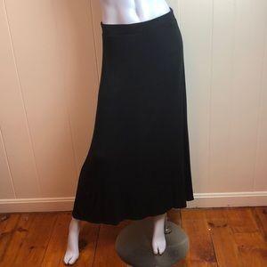 3/$27 American Eagle Black Knit Maxi Skirt